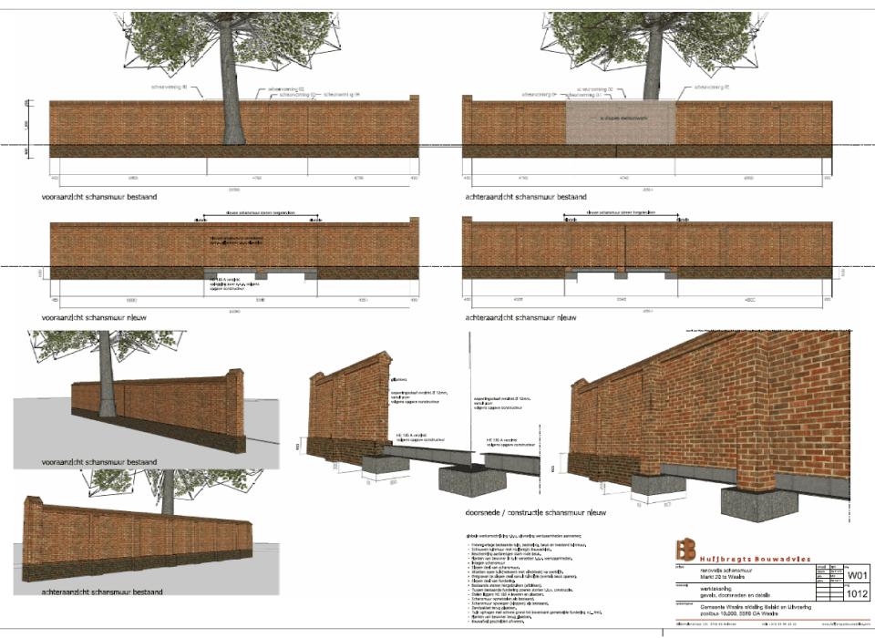 Renovatie Monumentale Schansmuur